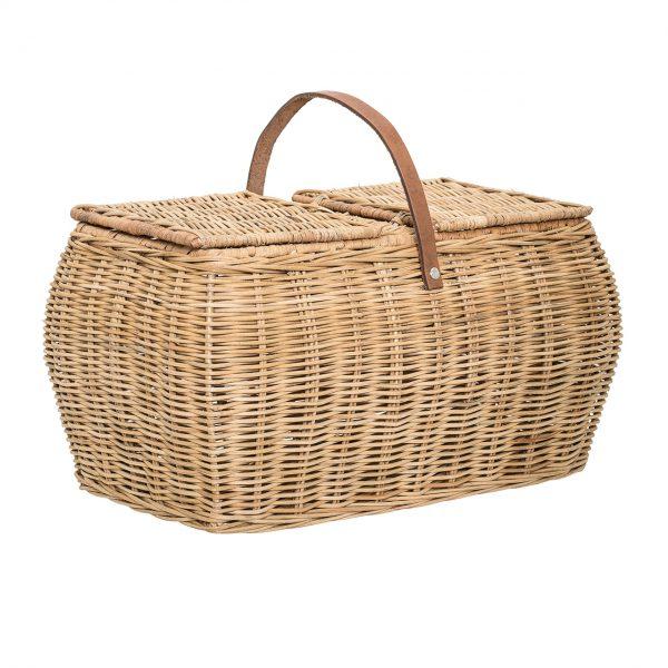 Picknickkorb aus Rattan (Bloomingville)