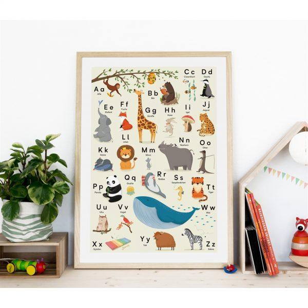 "ABC-Poster ""Tieralphabet"" (DIN B2)"