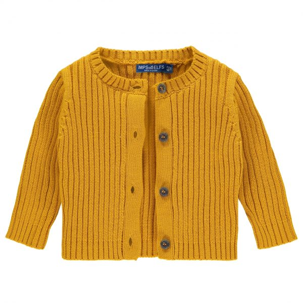 Strickjacke gelb (Imps & Elfs)