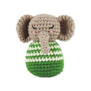 """Häkelrassel """"Elefant"""""""