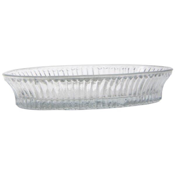 Glasschale (oval)