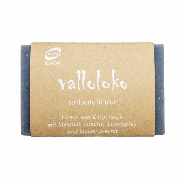 """Hand- und Körperseife """"soliloquy in blue"""" von valloloko"""