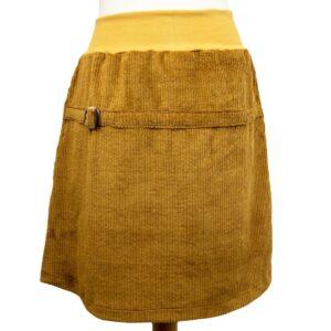 Breitcordrock gelb von wunderdinge
