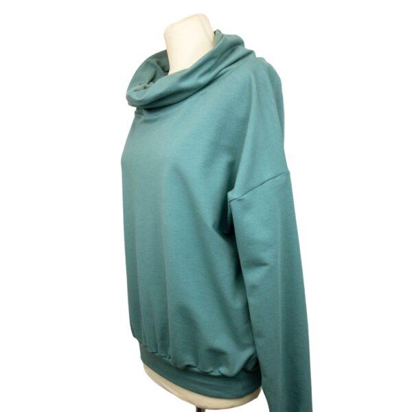 """Oversized Sweatshirt """"Balsam Green"""" von wunderdinge"""