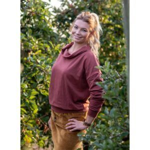 "Oversized Sweatshirt ""Sable Brown"" von wunderdinge"