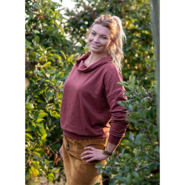 """Oversized Sweatshirt """"Sable Brown"""" von wunderdinge"""