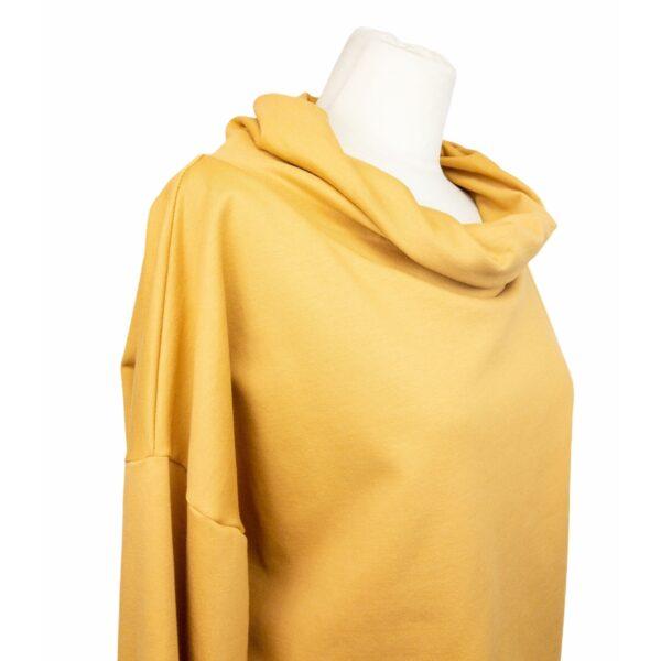 """Oversized Sweatshirt """"Senfgelb"""" von wunderdinge"""