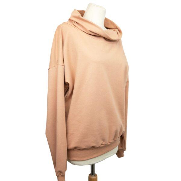 """Oversized Sweatshirt """"Camel Brown"""" von wunderdinge"""