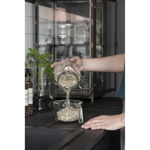 Rührschüssel aus Glas von Ib Laursen
